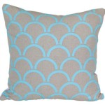Aqua Arches Cushion