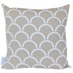 White Arches Cushion