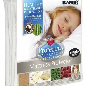 Protectiva Cotton Bamboo Towel Mattress Protector