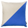 Block Blue Cushion