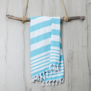 Turkish Towel Aqua