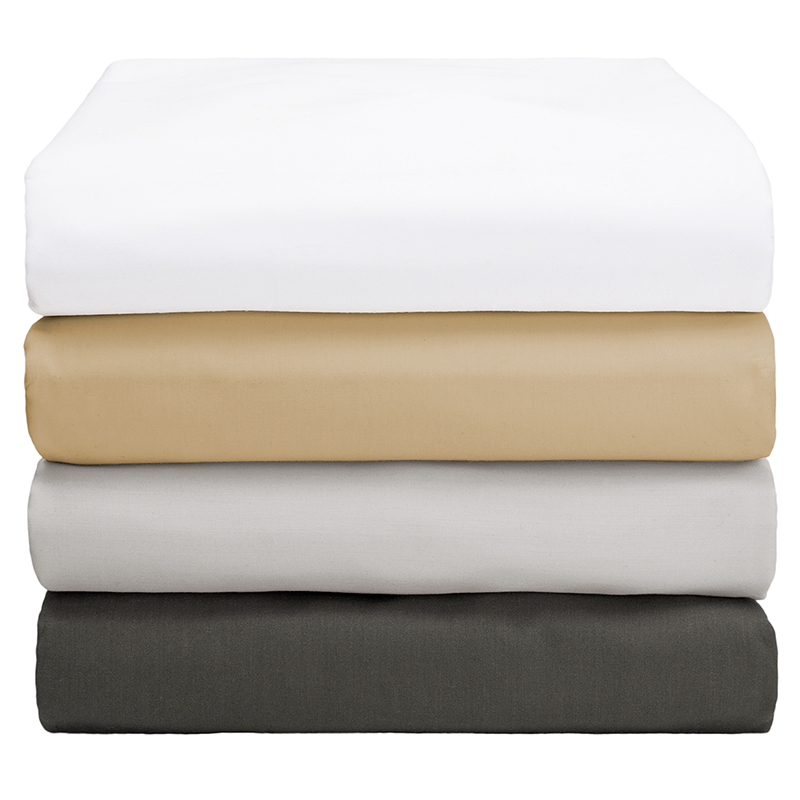 Surround yourself in comfort with an Ultra Soft Fitted Sheet from Threshold. Breathable natural cotton fiber has been brushed for ultimate softness.