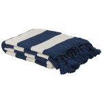 Madison Throw Navy