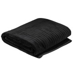 Cotton Velvet Blanket Midnight