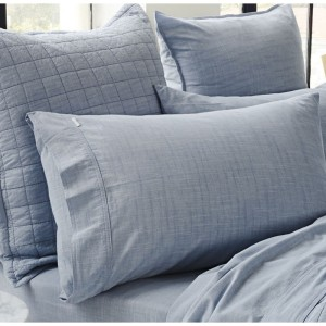 Reilly Chambray Pillowcase Pair