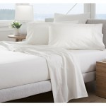 300tc classic percale sheet set snow
