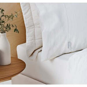 Abbotson White Fitted Sheet